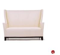 Picture of David Edward Aspen Reception Lounge Lobby High 2 Seat Loveseat Sofa