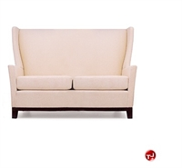 Picture of David Edward Aspen Reception Lounge Lobby High Back 2 Seat Loveseat Sofa