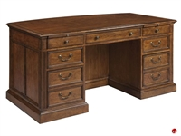Picture of Hekman 1-1140 Traditional Veneer Executive Office Desk Workstation