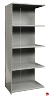 "Picture of HOD 5 Shelf Steel, Add-On 36"" x 12"" Steel Closed Shelving"