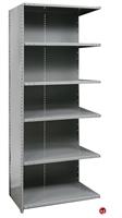 "Picture of HOD 6 Shelf Steel, Add-On 48"" x 12"" Steel Closed Shelving"