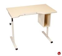 "Picture of POP 24"" x 40"" Height Adjustable Office Desk Computer Workstation, ADA"