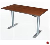 "Picture of POP 24"" x 60"" Height Adjustable Computer Desk Workstation, ADA"