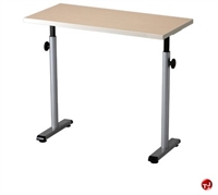 "Picture of POP 16"" x 33"" Height Adjustable Computer Training Table, ADA"