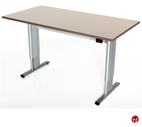 """Picture of POP 24"""" x 36"""" Power Height Adjustable Training Table, ADA"""