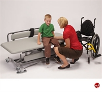 "Picture of POP 60"" Mobile Adjustable Changer Therapy Table"