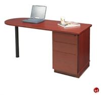 "Picture of QUARTZ 24"" X 48"" D-Top Computer Training Table"