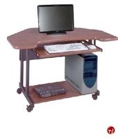 """Picture of QUARTZ 30"""" x 48"""" Mobile Computer Desk Cart"""