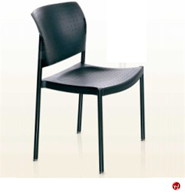 Picture of KI Rapture Guest Side Reception Poly Stack Arm Chair