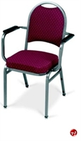 Picture of MLP 1915 Banquet Stack Chair with Arms