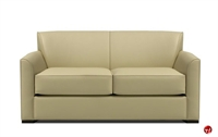 "Picture of Martin Brattrud Augusta 370 Reception Lounge 72"" Loveseat Sofa"