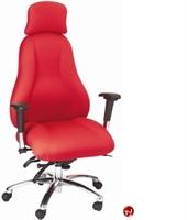 Picture of Milo 24/7 High Back Heavy Duty Office Swivel Chair, Headrest