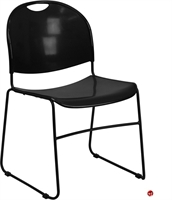 Picture of Brato Guest Side Reception Stacking Plastic Chair, Sled Base