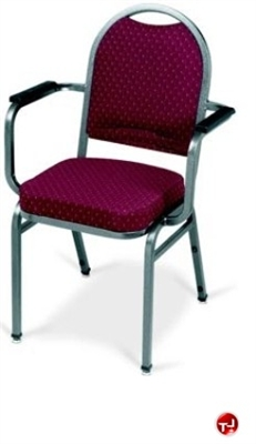 The office leader mlp 1975 banquet stack chair with arms for Affordable furniture greenbriar