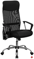 Picture of Brato High Back Mesh Leather Swivel Chair