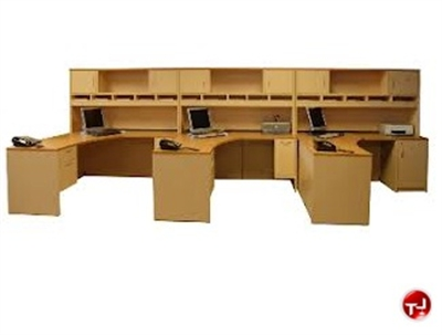 office desks with storage. Plain Desks Peblo 3 Person L Shaped Office Desk Worksation Overhead Storage In Desks With U