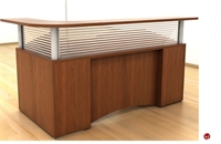 Picture of Peblo L Shape Reception Desk Workstation