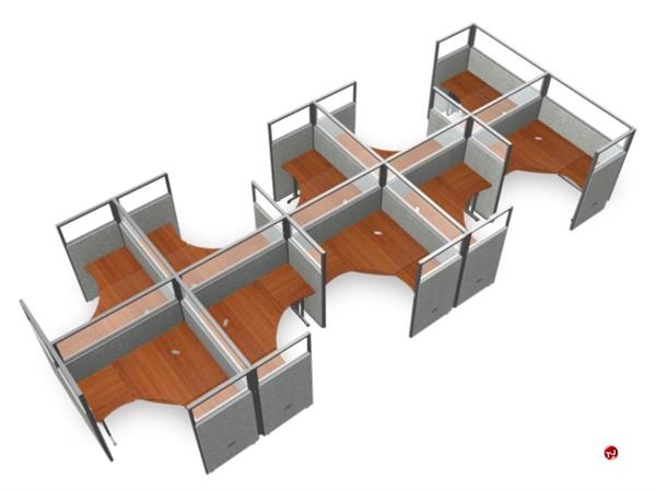 office desk cubicle. 10 Person L Shape Office Desk Cubicle Cluster Workstation