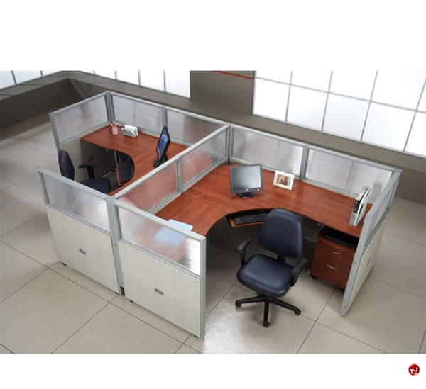 the office leader 2 person l shape office desk cubicle
