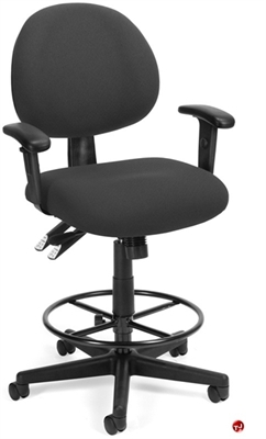 Picture of 24 Hour Use Office Multi Function Drafting Stool Chair