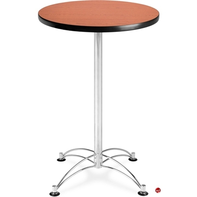 """Picture of 24"""" Round Cafeteria Dining Bar Height Table"""