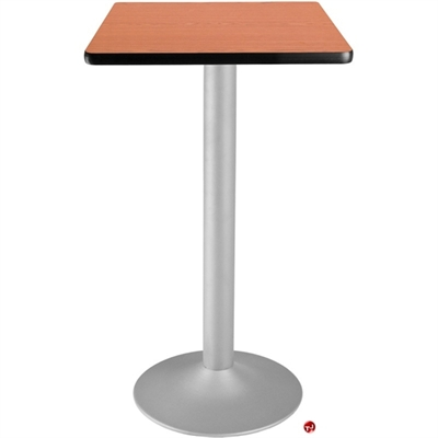 """Picture of 24"""" Square Cafeteria Dining Bar Height Flip Top Table"""
