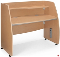 "Picture of 24"" x 48"" Telemarketing Office Desk Cubicle Workstation"