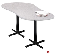 """Picture of 24"""" X 67"""" Crescent Meeting Conference Table"""
