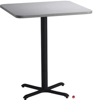 """Picture of 30"""" Round Cafeteria Dining Bar Height Table"""