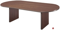 """Picture of 36"""" x 72"""" Racetrack Laminate Conference Table"""