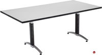 """Picture of 36"""" x 72"""" Rectangular Laminate Conference Table"""