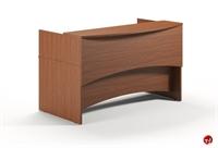 "Picture of 72"" Laminate Reception Desk Workstation"