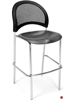 Picture of Cafeteria Dining Armless Stack Plastic Barstool