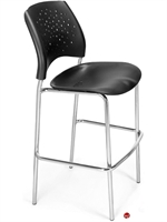 Picture of Cafeteria Dining Plastic Stack Armless Stool
