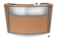 """Picture of Contemporary 72"""" Laminate Reception Office Desk Workstation"""