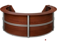Picture of Contemporary Circular Reception Office Desk Workstation