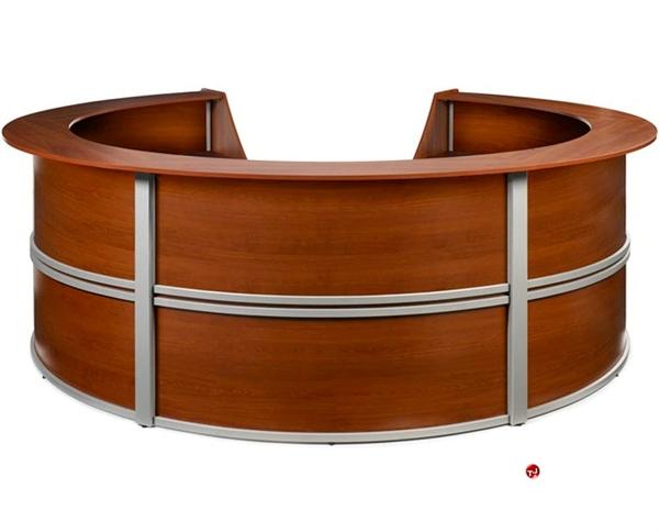 circular office desks. Contemporary Circular Reception Office Desk Workstation Circular Office Desks B