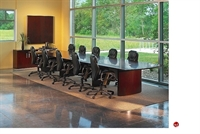 Picture of Contemporary Veneer 24' Rectangular Conference Table