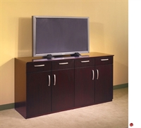 Picture of Contemporary Veneer Conference Buffet Credenza