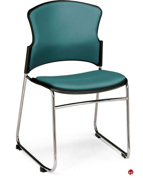 the office leader guest side reception plastic stack chair