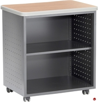 Picture of Mobile 2 Shelf Storage Cabinet
