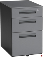 Picture of Mobile 3 Drawer Filing Pedestal