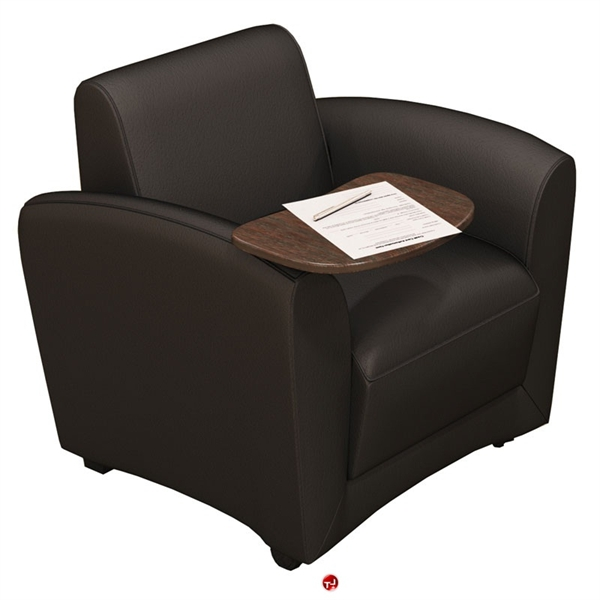 Superb The Office Leader Reception Lounge Mobile Tablet Arm Chair Pabps2019 Chair Design Images Pabps2019Com