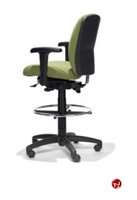 Picture of RFM 42233 Ergonomic Office Task Stool Chair, Footring