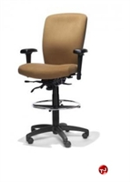 Picture of RFM 42333 Ergonomic Office Task Stool Chair, Footring