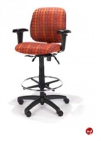 Picture of RFM 58233 Ergonomic Office Task Stool Chair, Footring