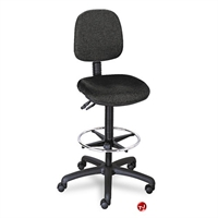 Picture of Armless Drafting Footring Stool Chair