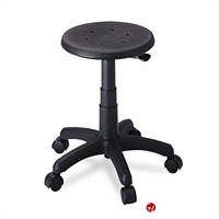 Picture of Backless Medical Plastic Swivel Stool