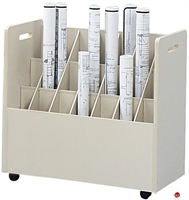 Picture of Rowdy Roll File Mobile Compartment Storage