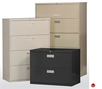 "Picture of 2 Drawer Steel Lateral File Cabinet, 36"" x 19"" x 29"""
